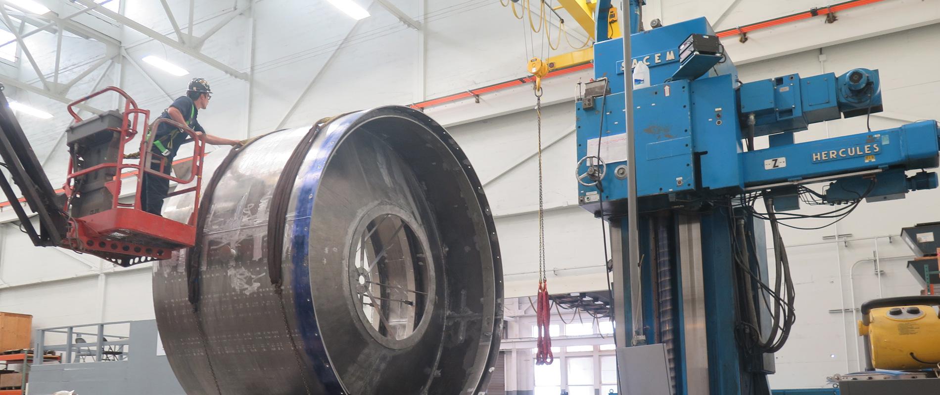 One-stop metal fabrication
